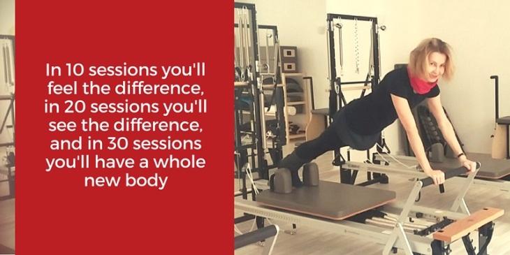 Core Pilates Studio Homepage