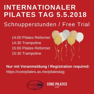 Pilates Tag Snupperstunden Core Pilates Wien